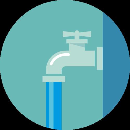 断水対策のアイコン